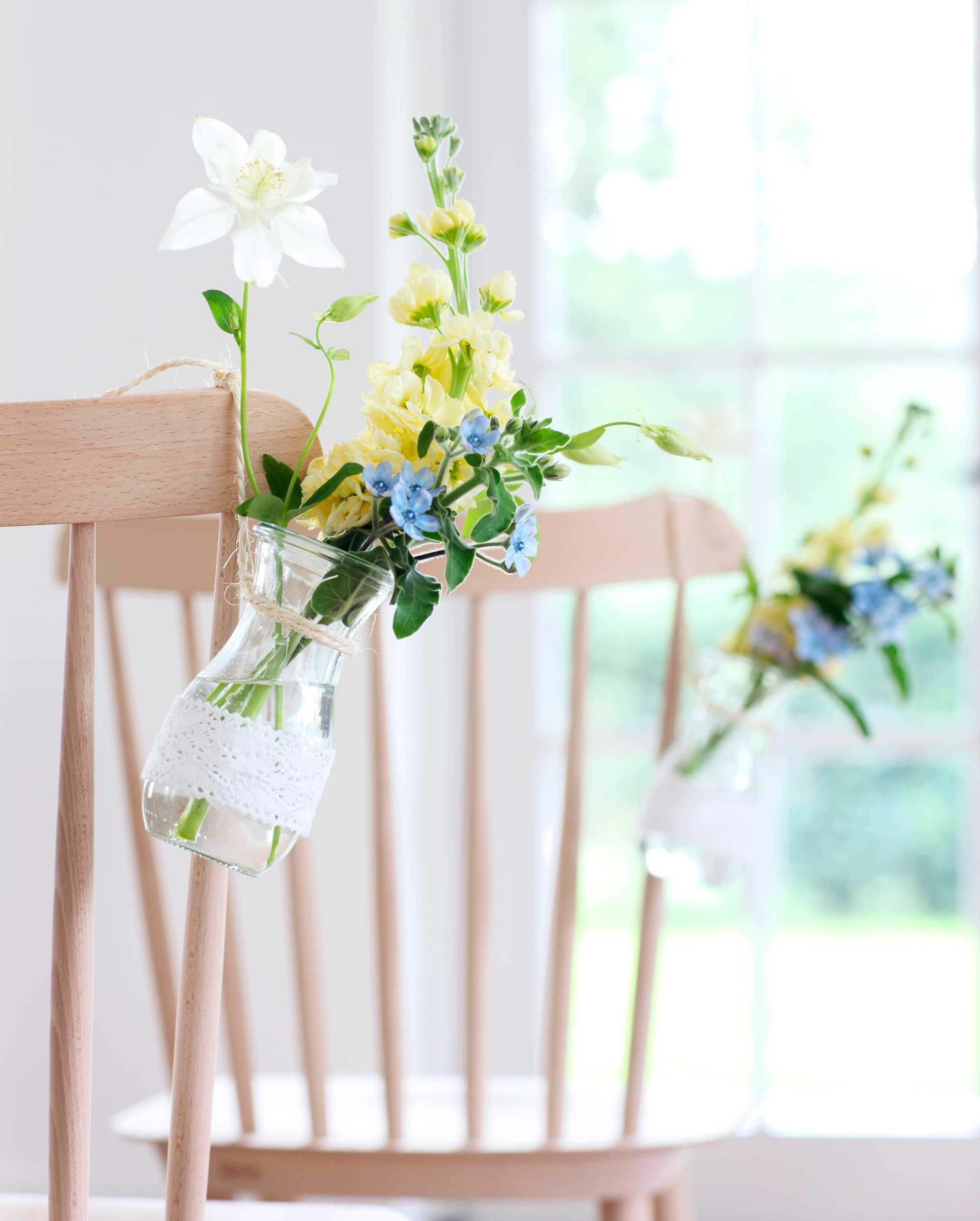 hangend groen - stoel