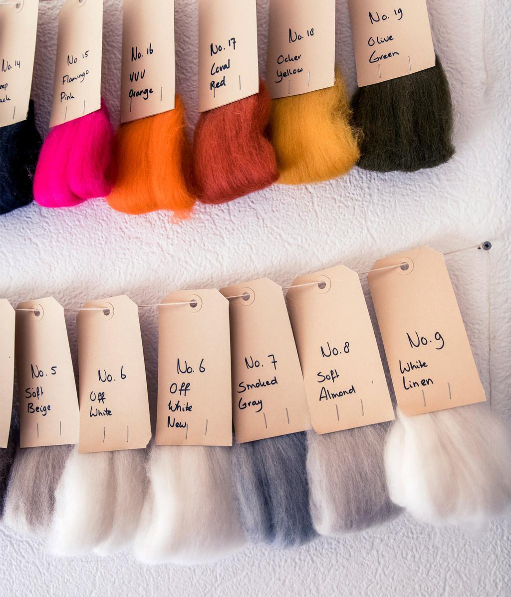 Kleuren wol | Ambacht | vtwonen 11-2020