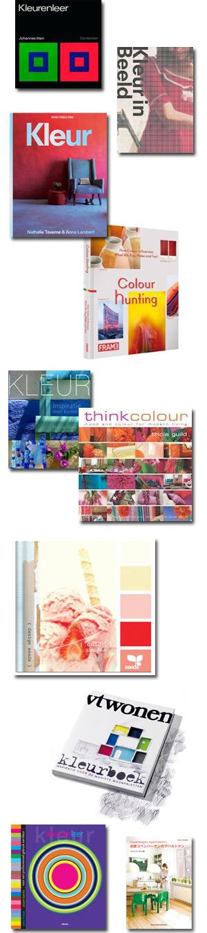 Boeken over kleur en interieur