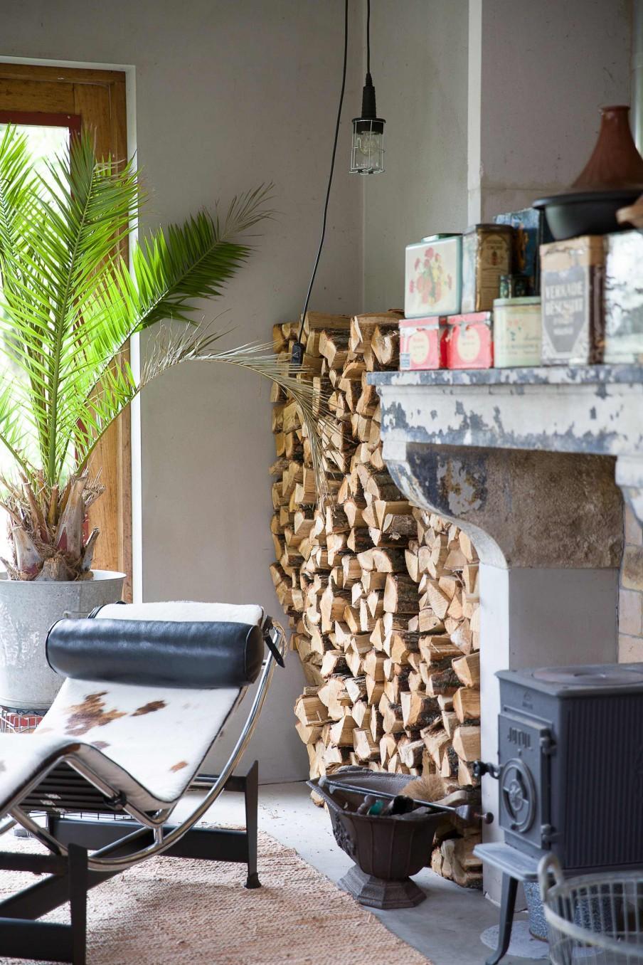 cheminée chaise longue