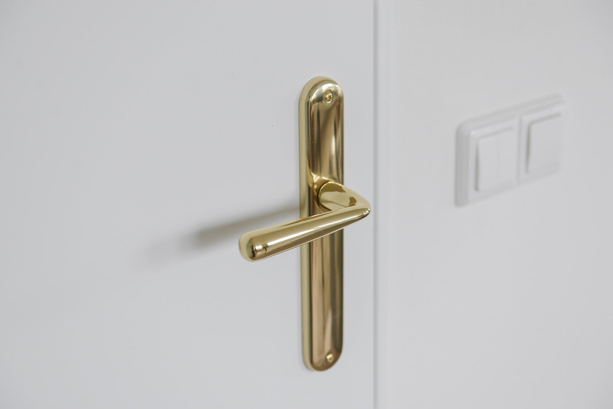 Gouden deurklink