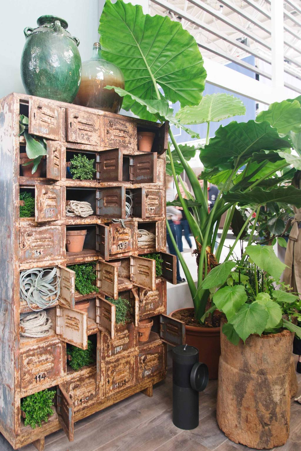 Planten vt wonen&design beurs REMADE with love