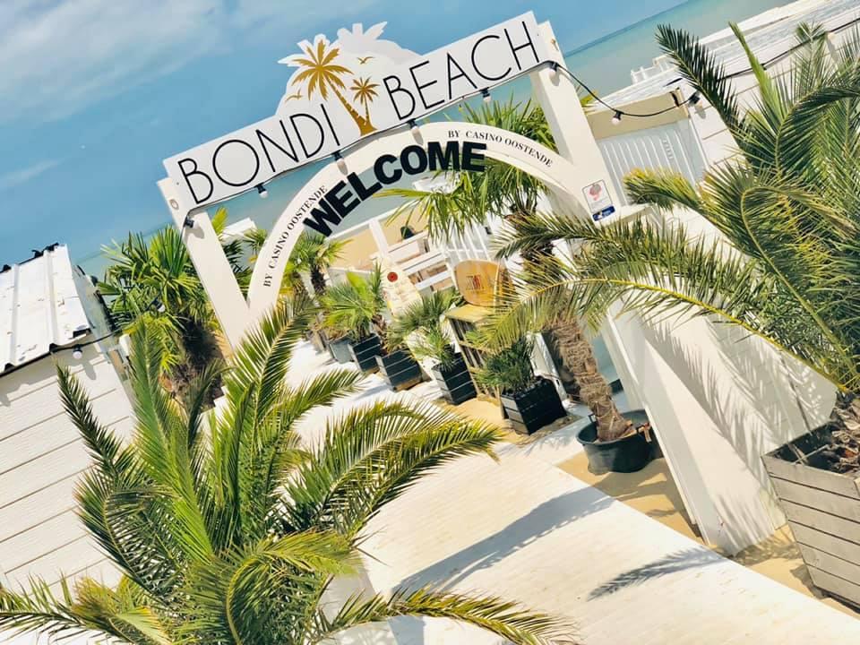 Bondi Beach in Oostende