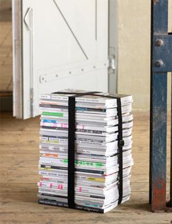 kruk van tijdschriften