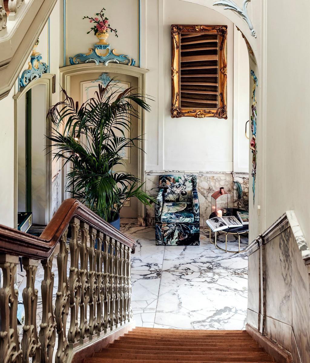 Marmer | Trap | Rococo-interieur | vtwonen 01-2021