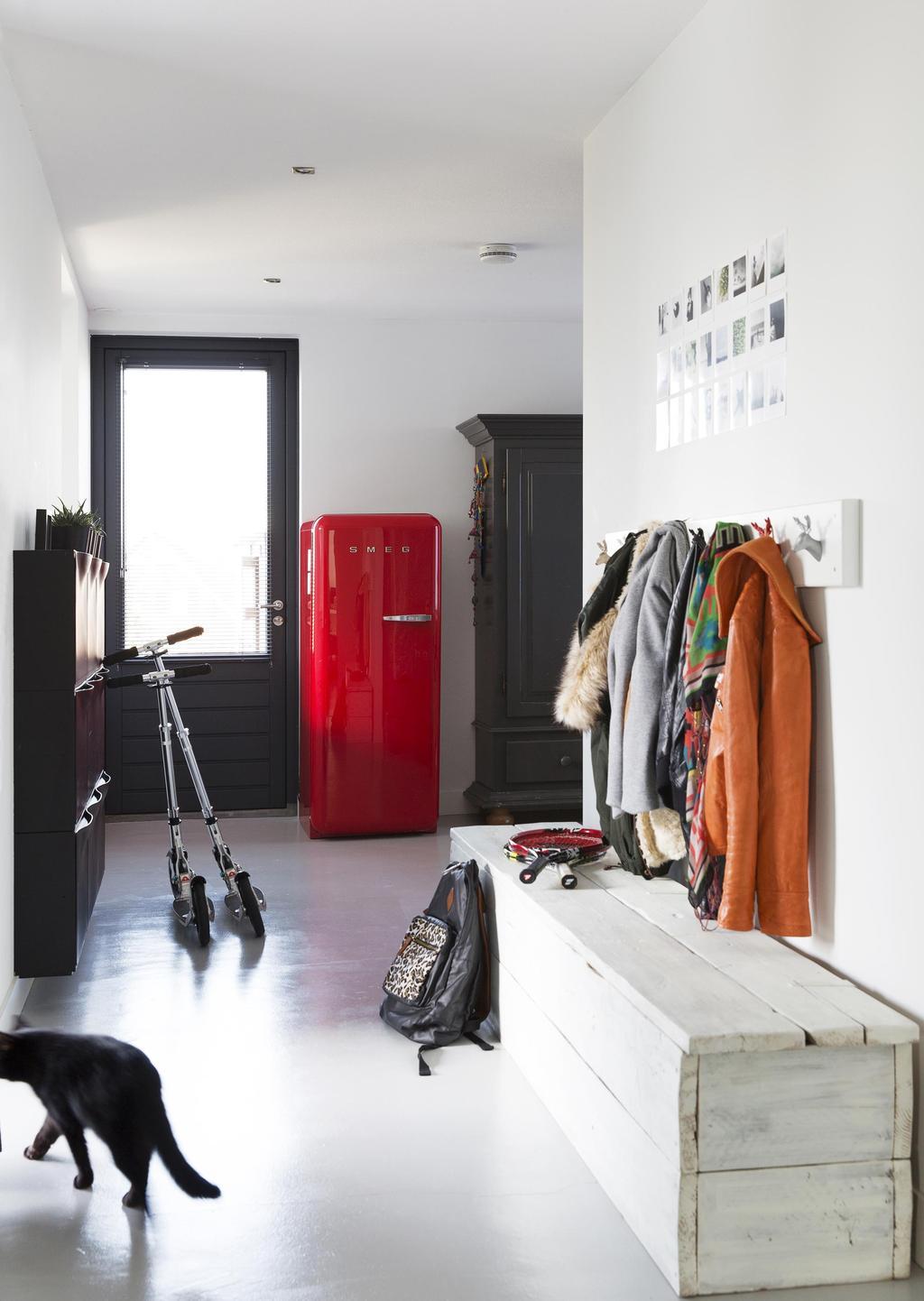 rode koelkast