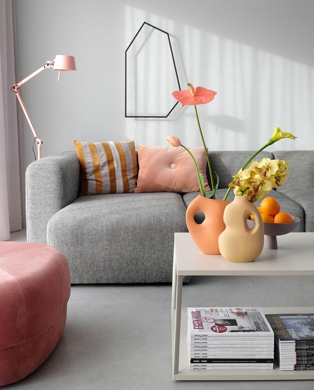 vtwonen | Blog woonkamer Duits design kleurrijk