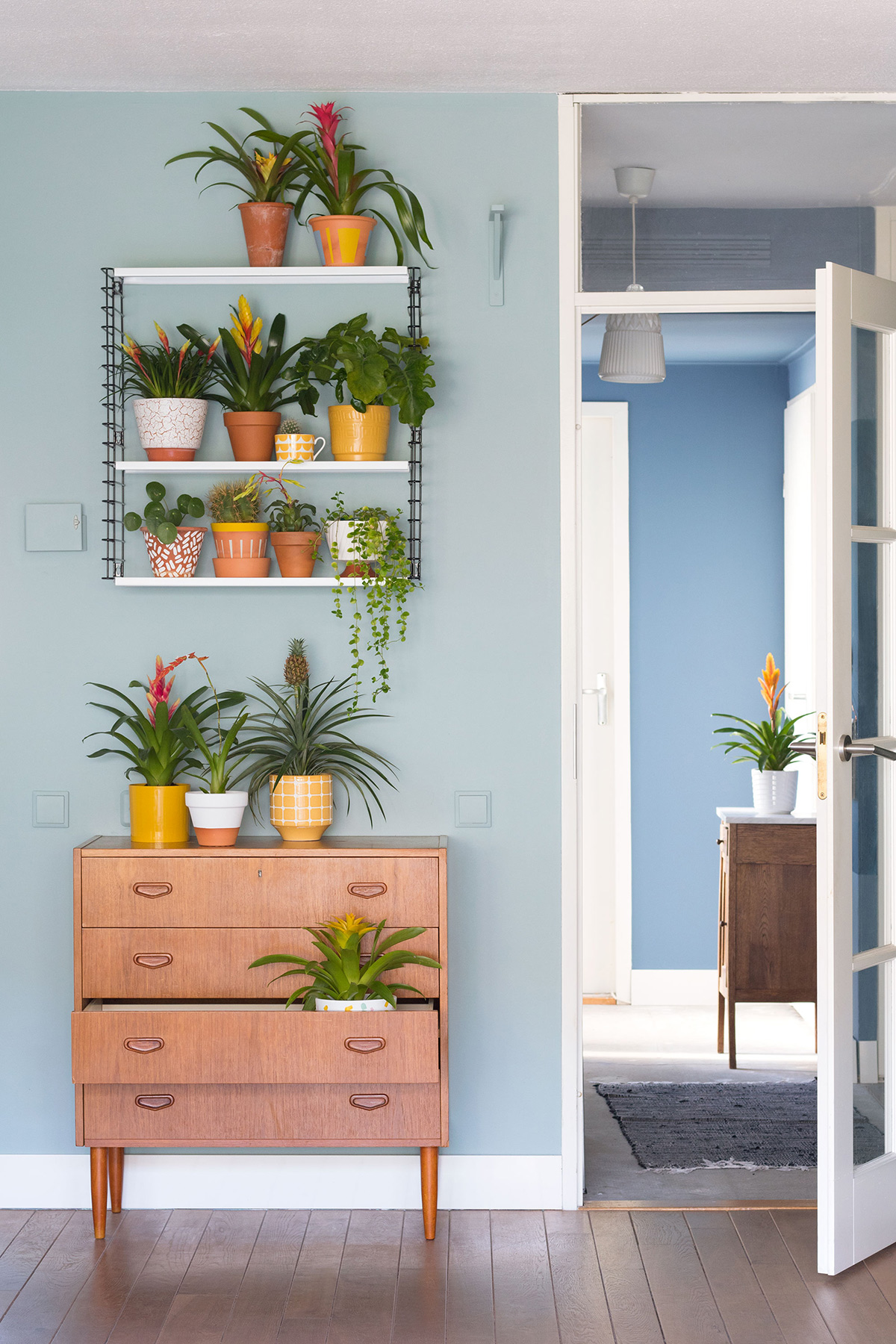 Tropische plantenstyling