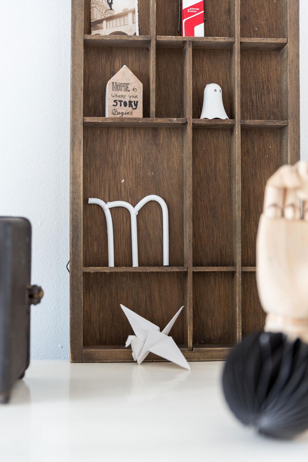 houten letterbak