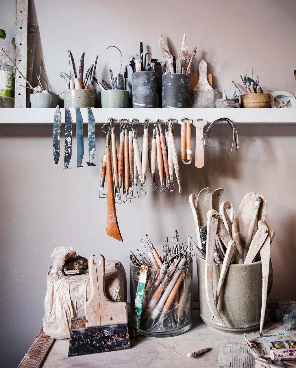 gereedschappen keramiek