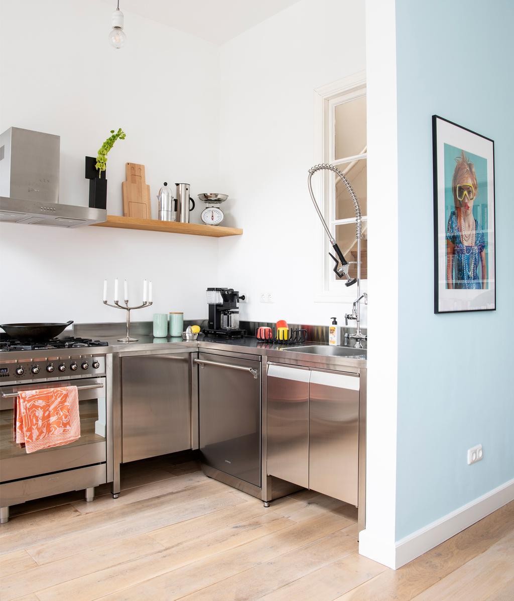 Keuken | Klleurrijk herenhuis | vtwonen