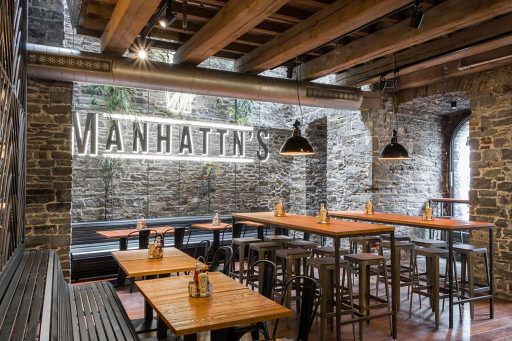 Manhattn's burgers in Gent