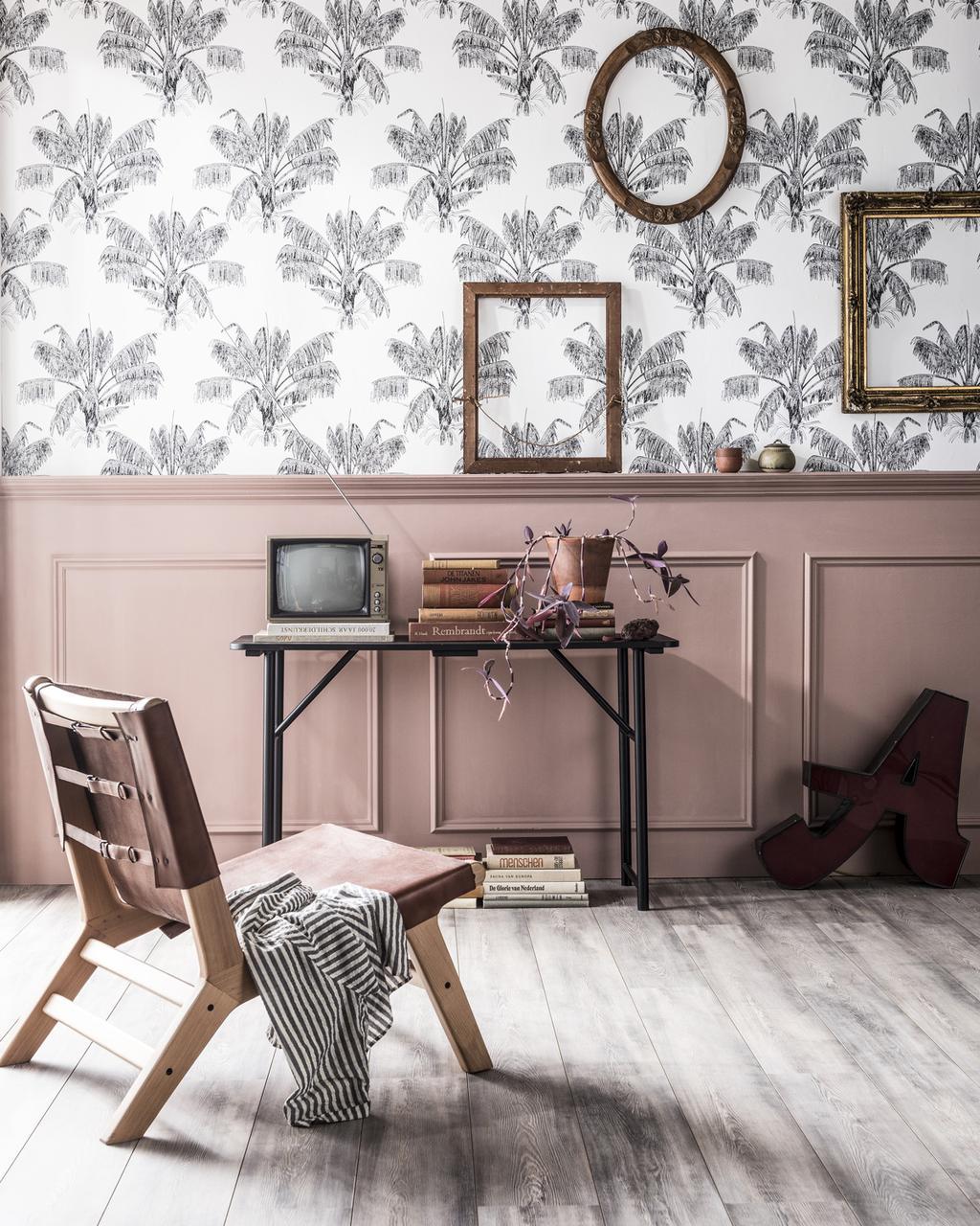 Roze muren en maximalistisch behang: dit zijn de belangrijkste lentetrends