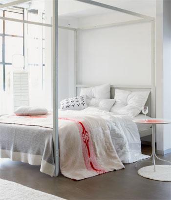 bed wit strak