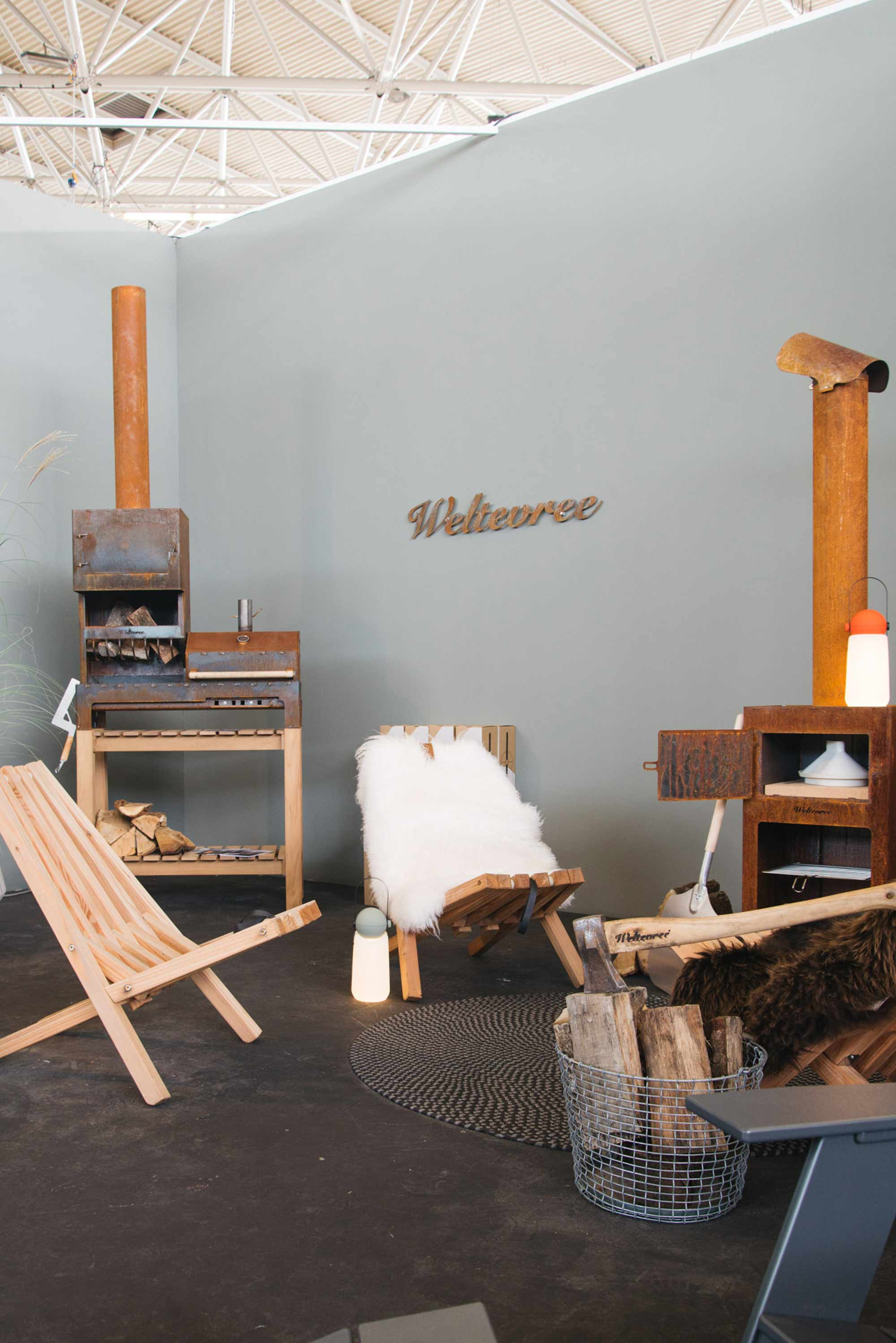 Buitenmeubels vt wonen&design beurs REMADE with love