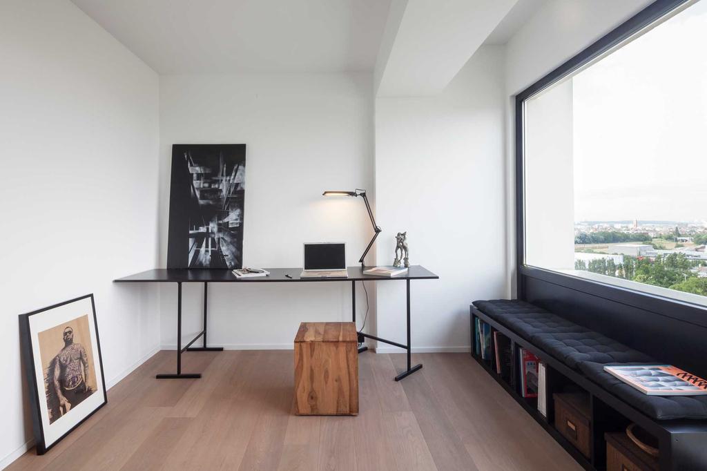 bureau bois noir