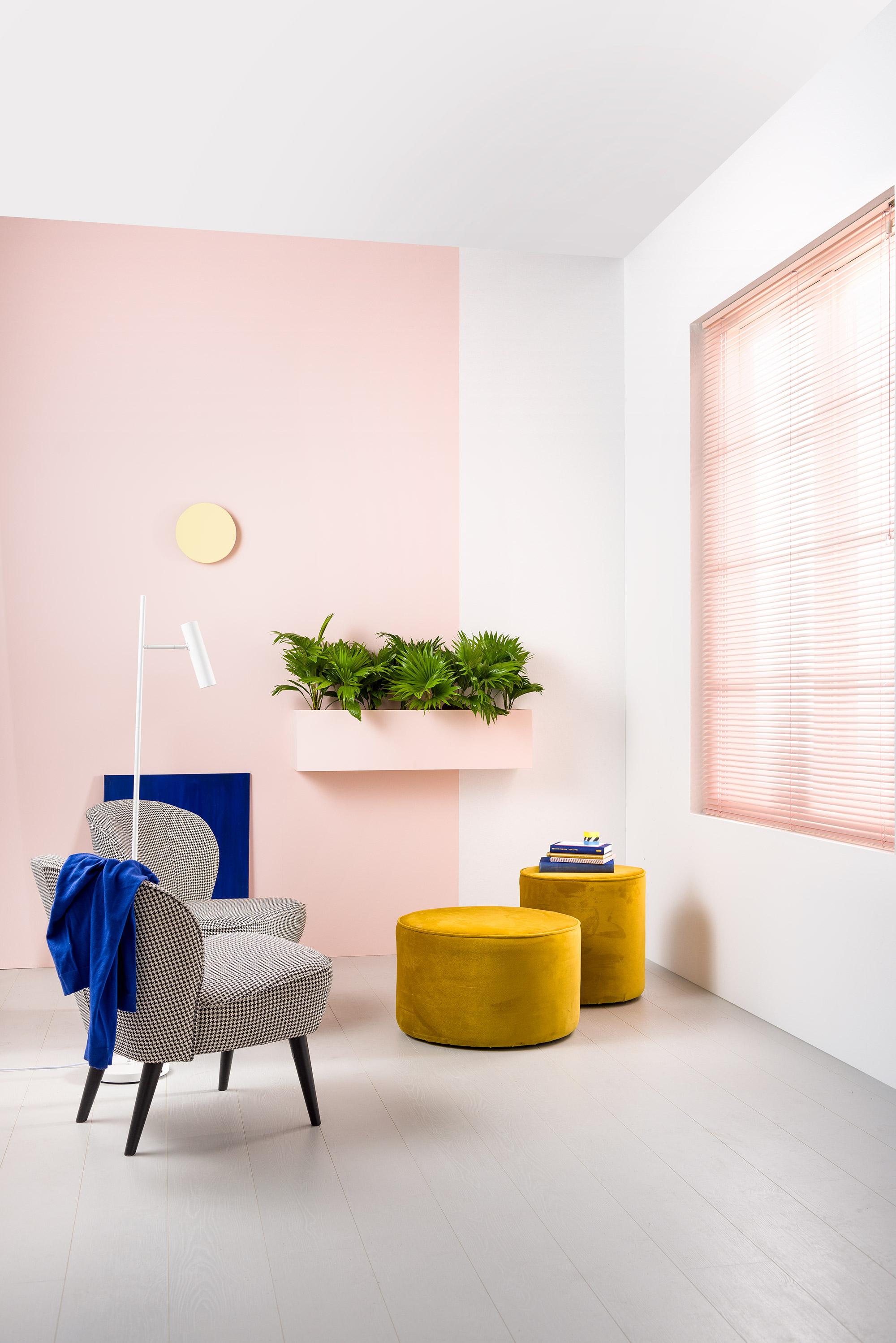 Karwei roze interieur