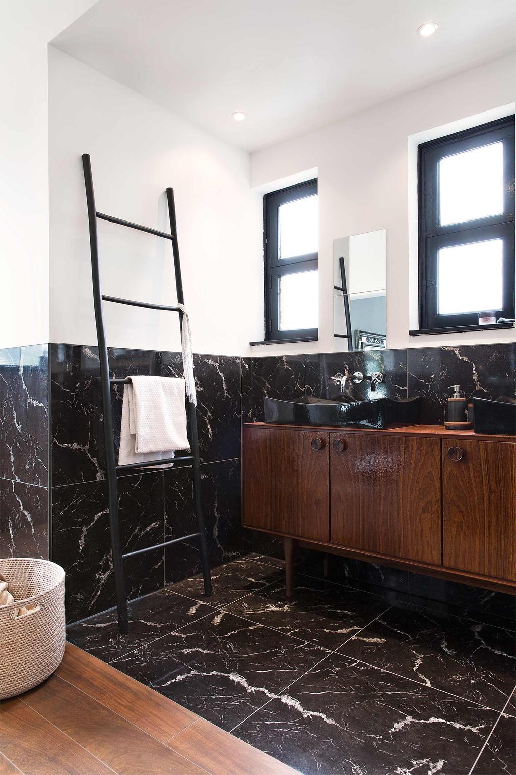 badkamermeubel hout