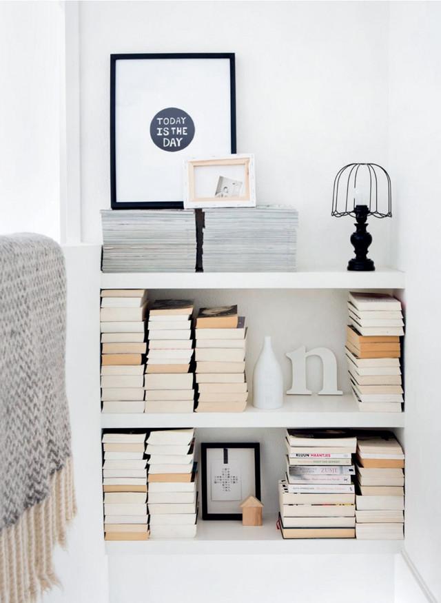 Boekenkast in het trapgat | DIY