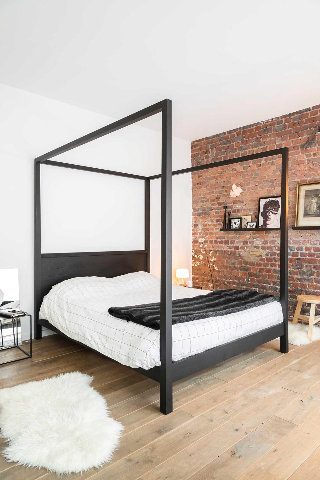 loft brussel slaapkamer