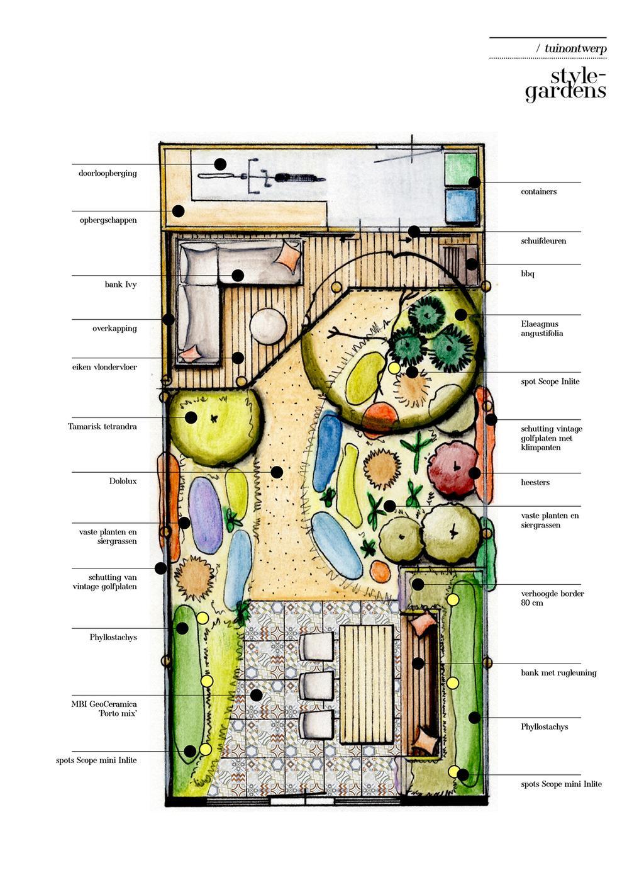 vtwonen tuin special 2 2020 | tuin ontwerp Ibiza