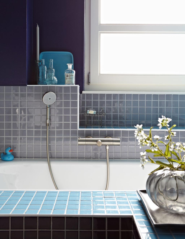 blauwe badkamertegels
