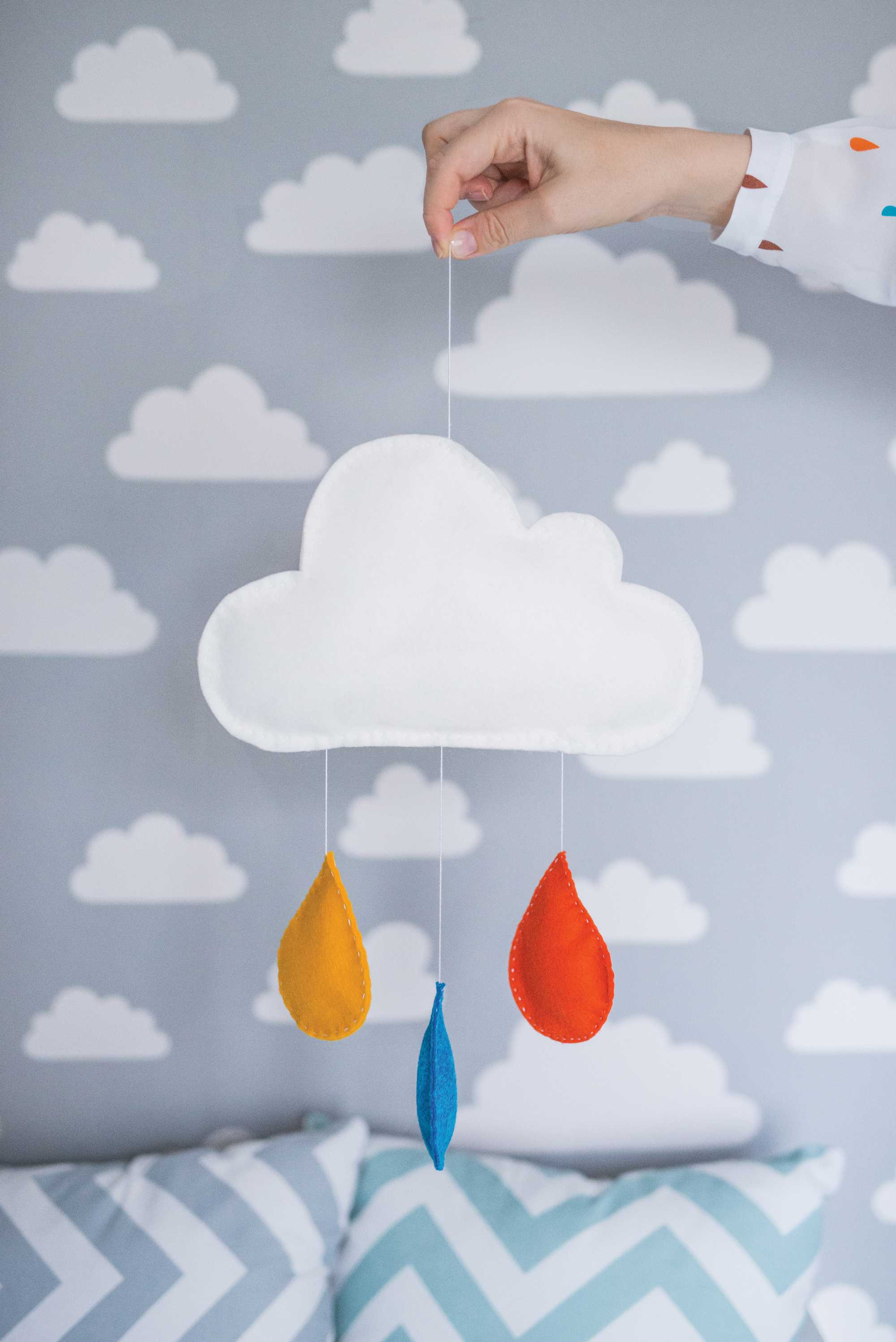 opbergzak wolken