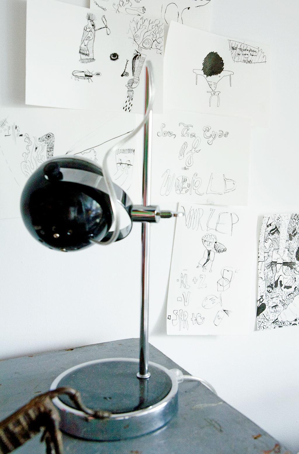 bureaulampje