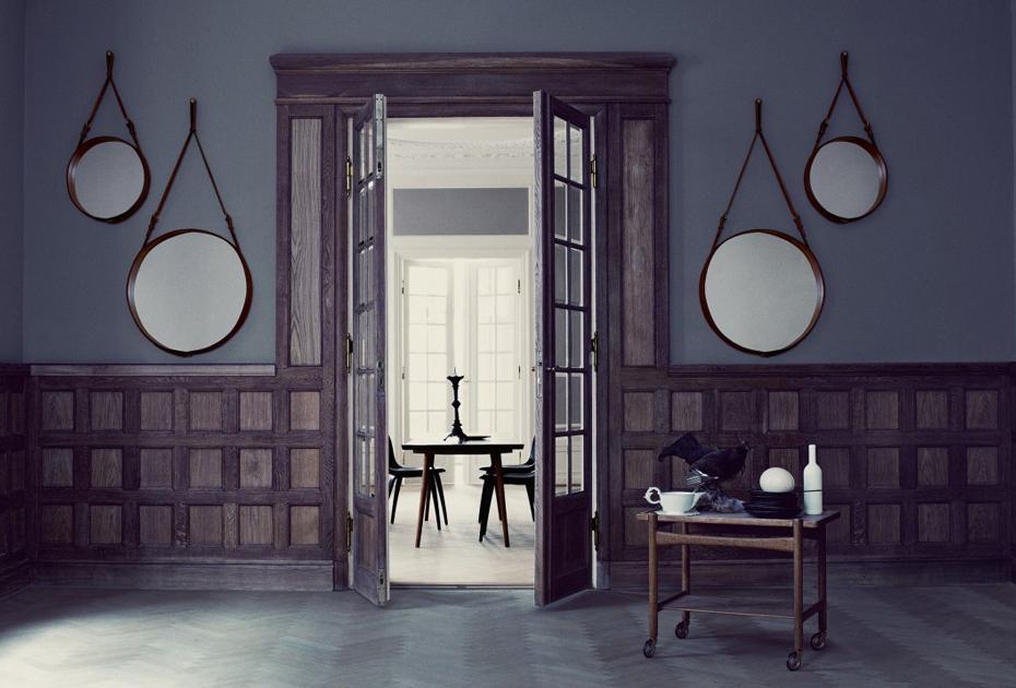 5 unieke ideeën voor spiegels in huis - Gubi - vtwonen