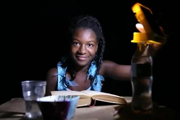 waka waka lamp