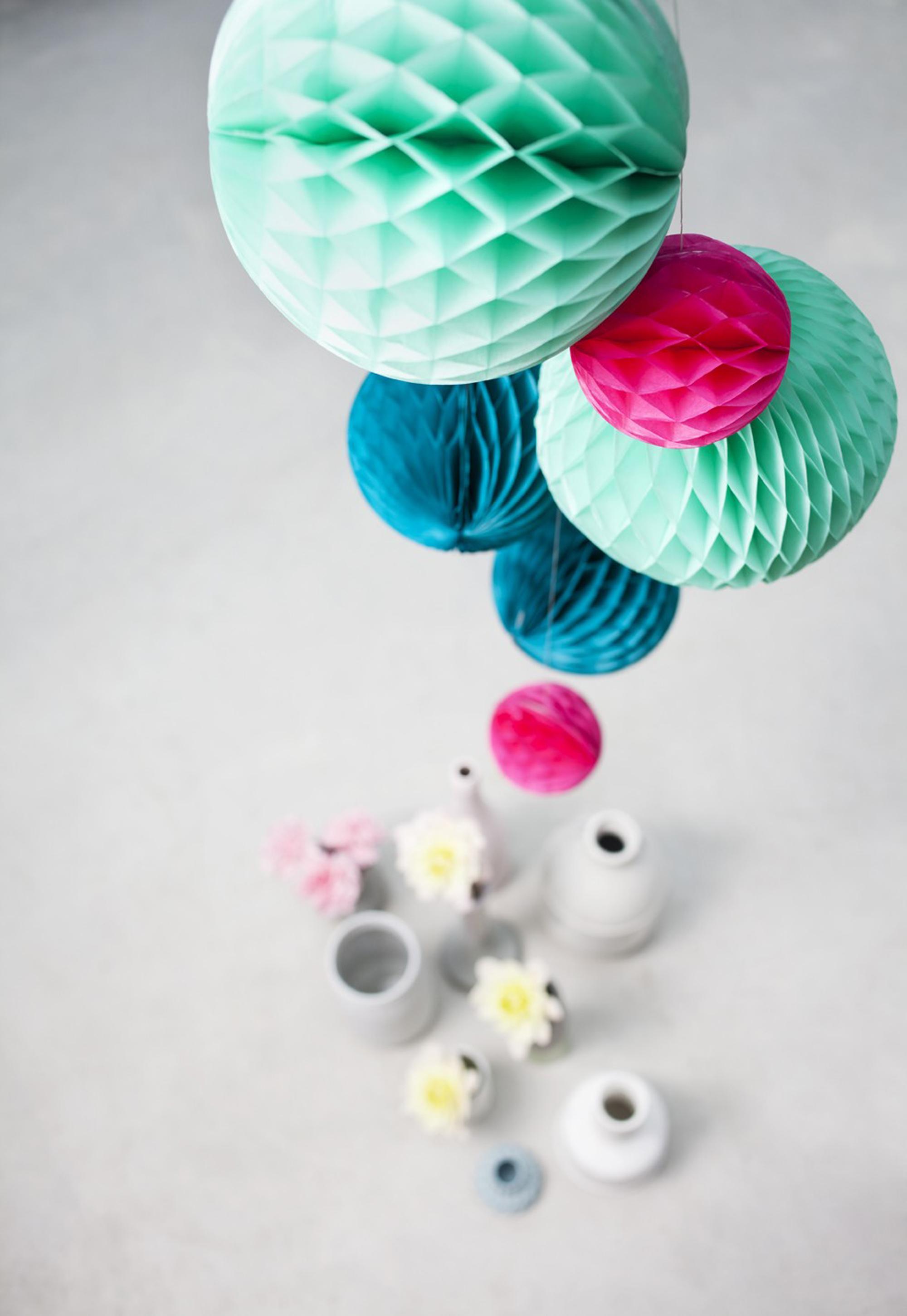 papieren decoratie