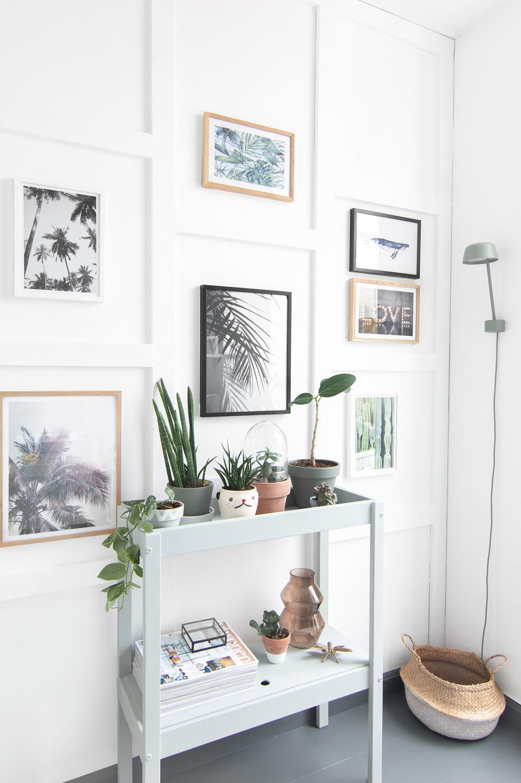 IKEA-hack van Tanja van Hoogdalem: SNIGLAR commode wordt sidetable met opbergruimte.