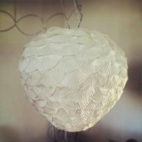 lamp van papier