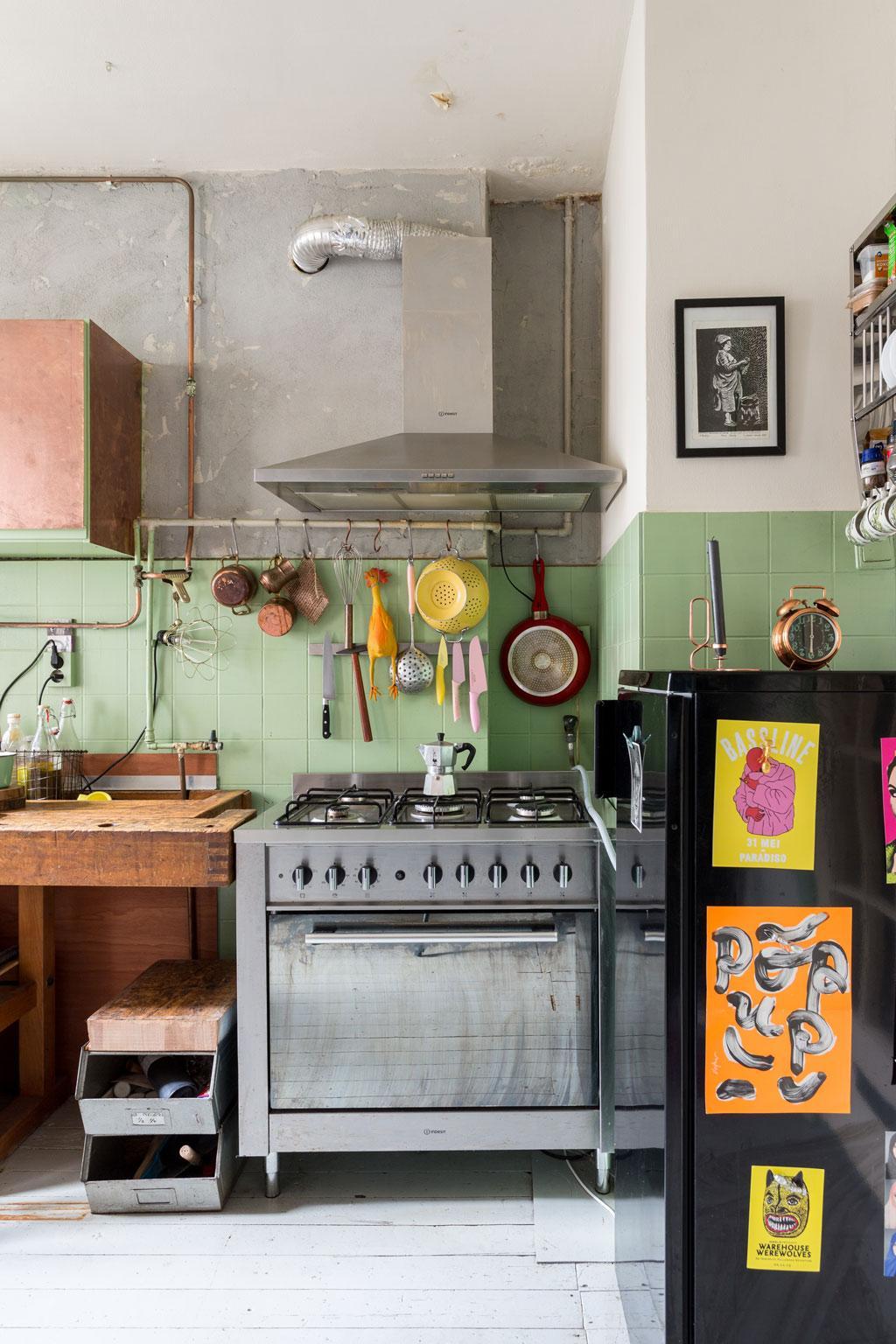 keuken woning amsterdam