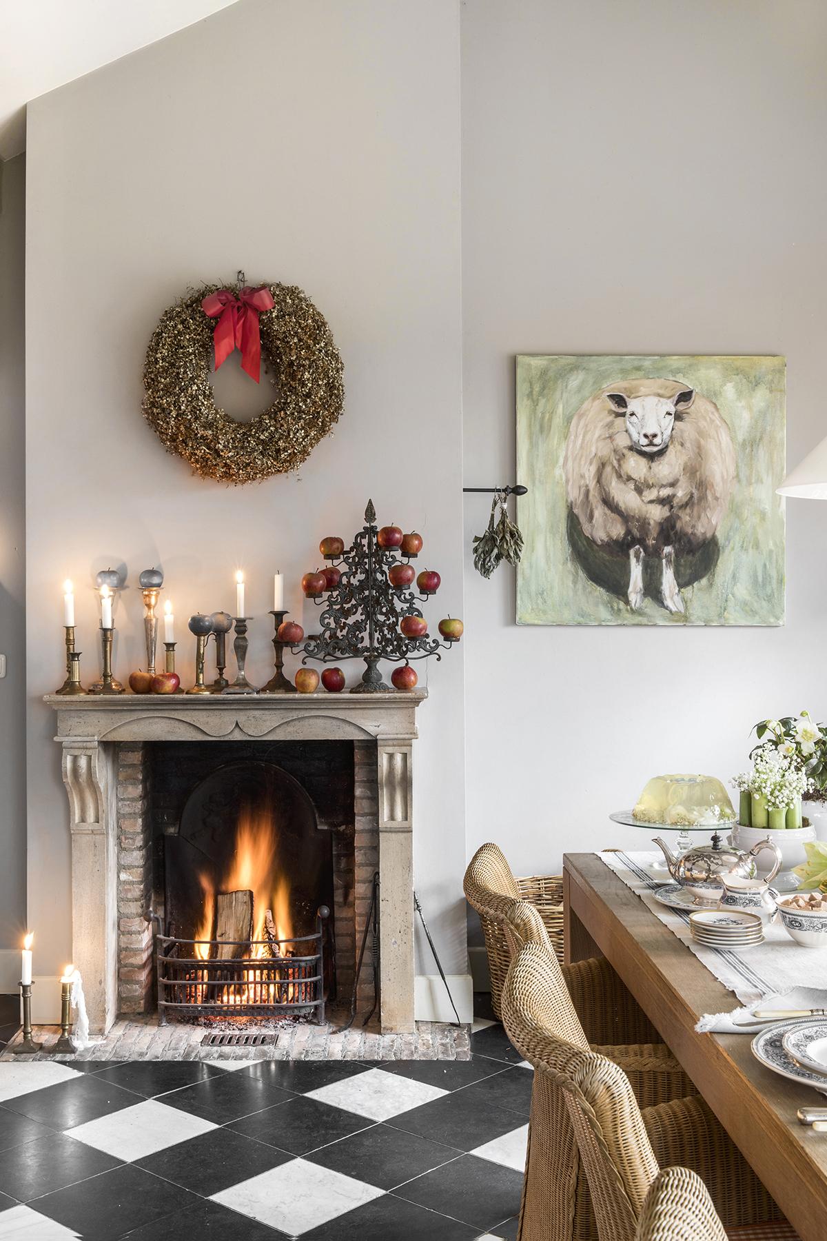 kerstboom alternatief kandelaar