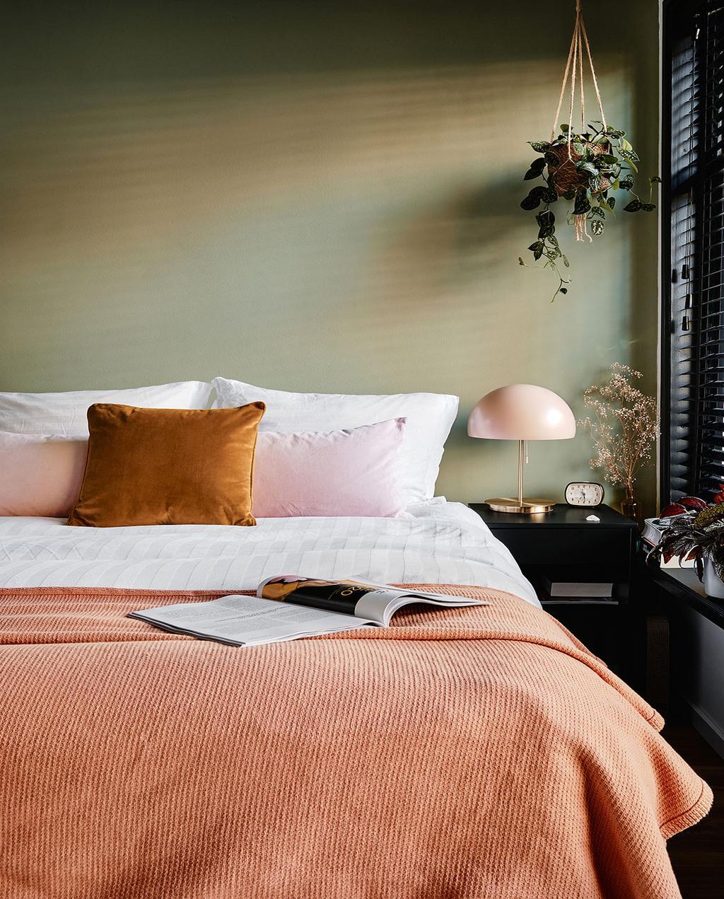vtwonen 02-2021 | slaapkamer opgemaakt bed