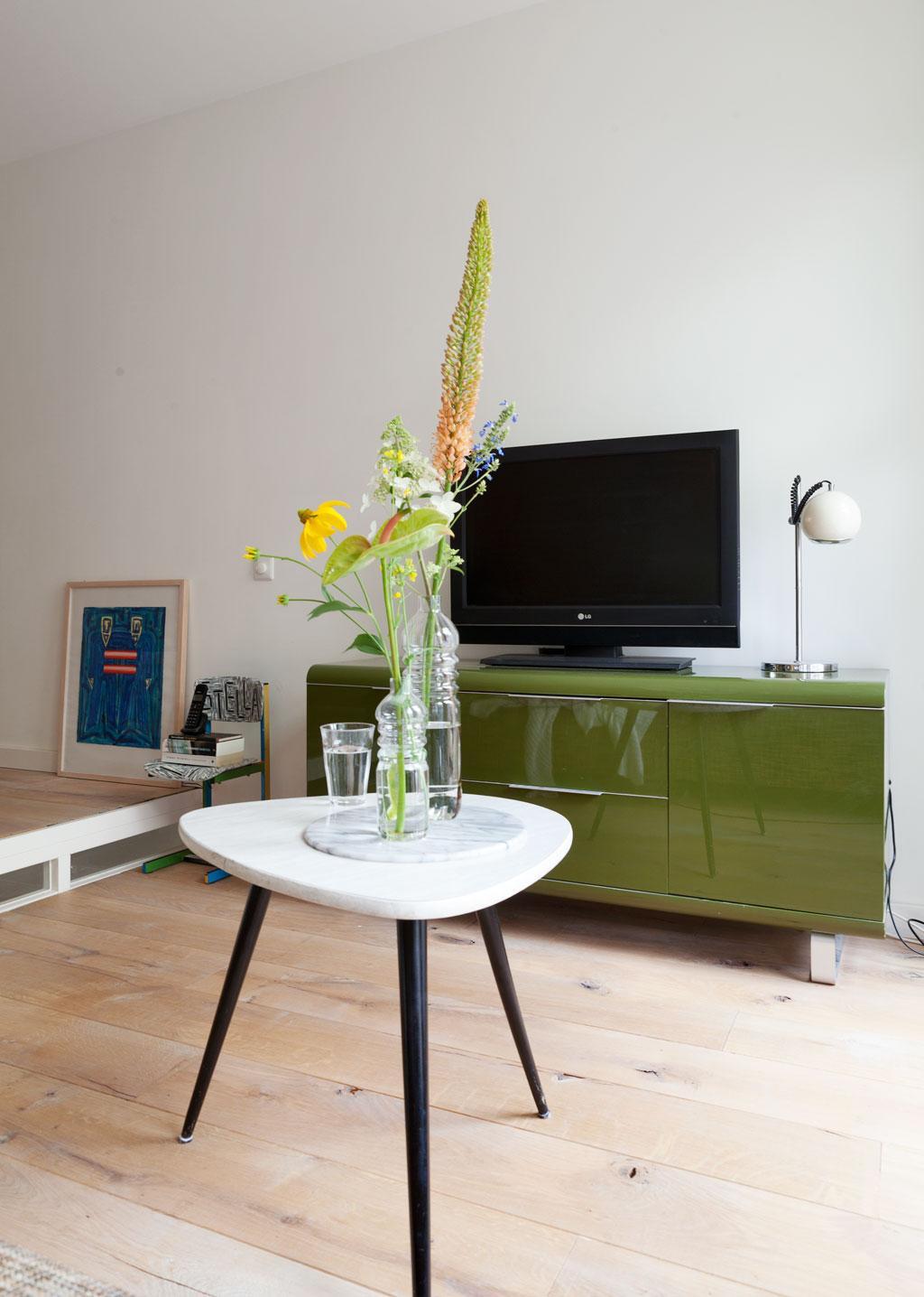 groen tv-meubel