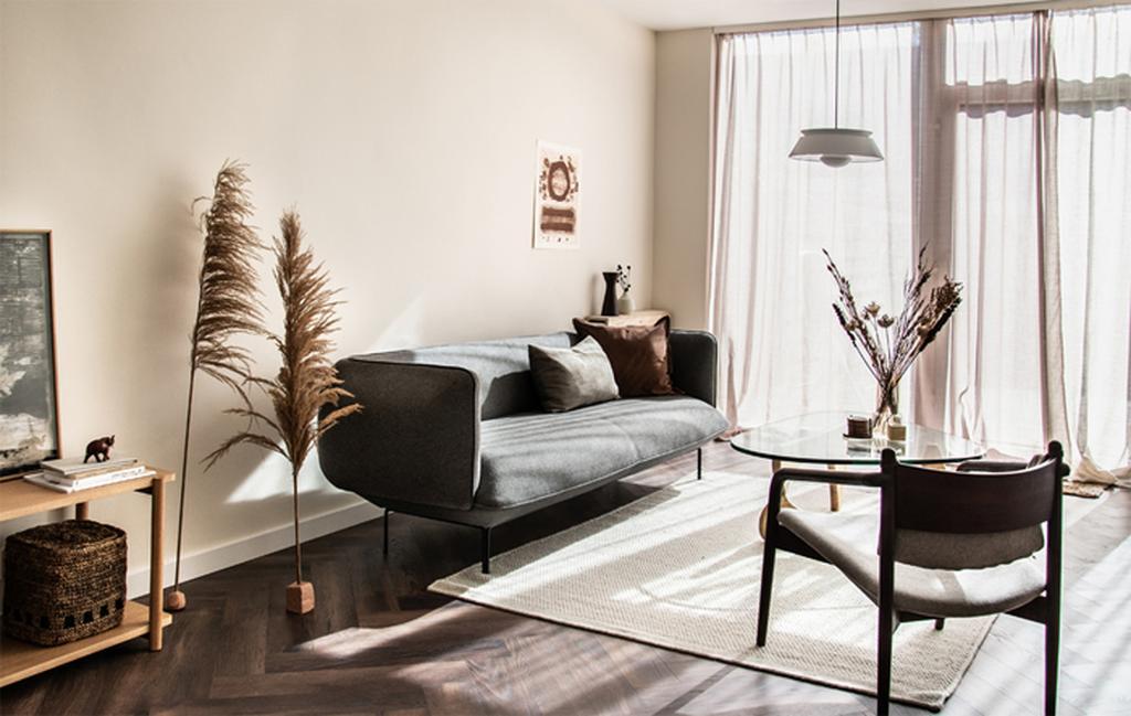 vtwonen bloggerscontest | de warme en minimalistische woonkamer van winnaar rachel terpstra