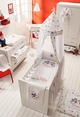 Woezel en Pip babykamer