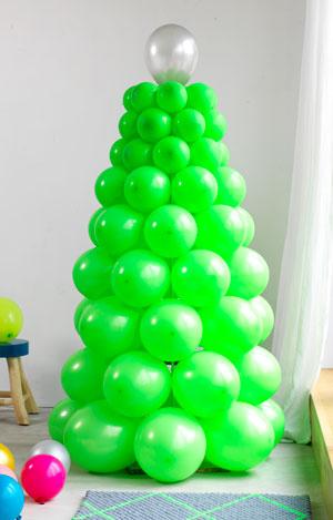 ballonnen kerstboom
