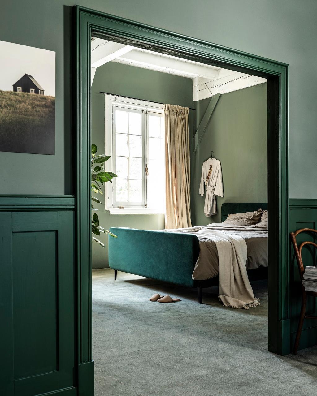 grijs vloerkleed slaapkamer
