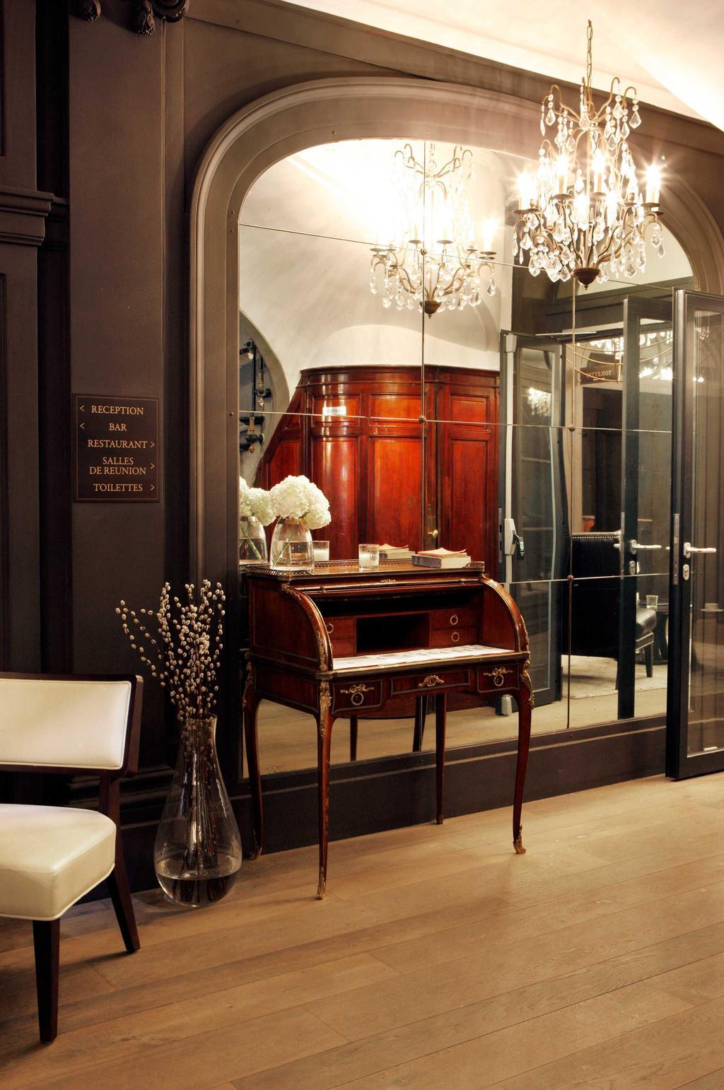 inkomhal bureau parijs hotel