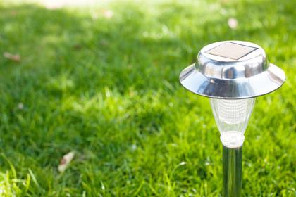 Zonne-energie tuinverlichting
