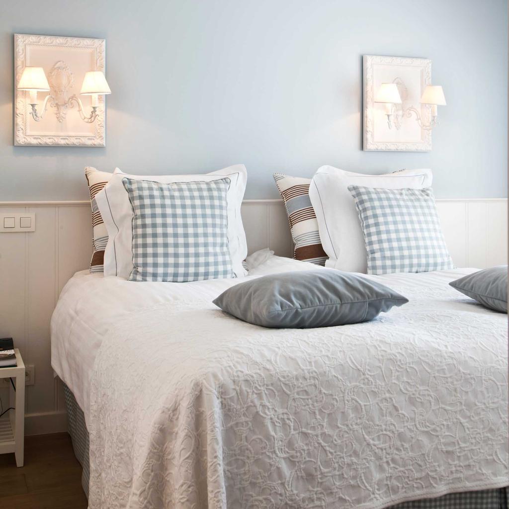 Manoir Carpe Diem slaapkamer wit