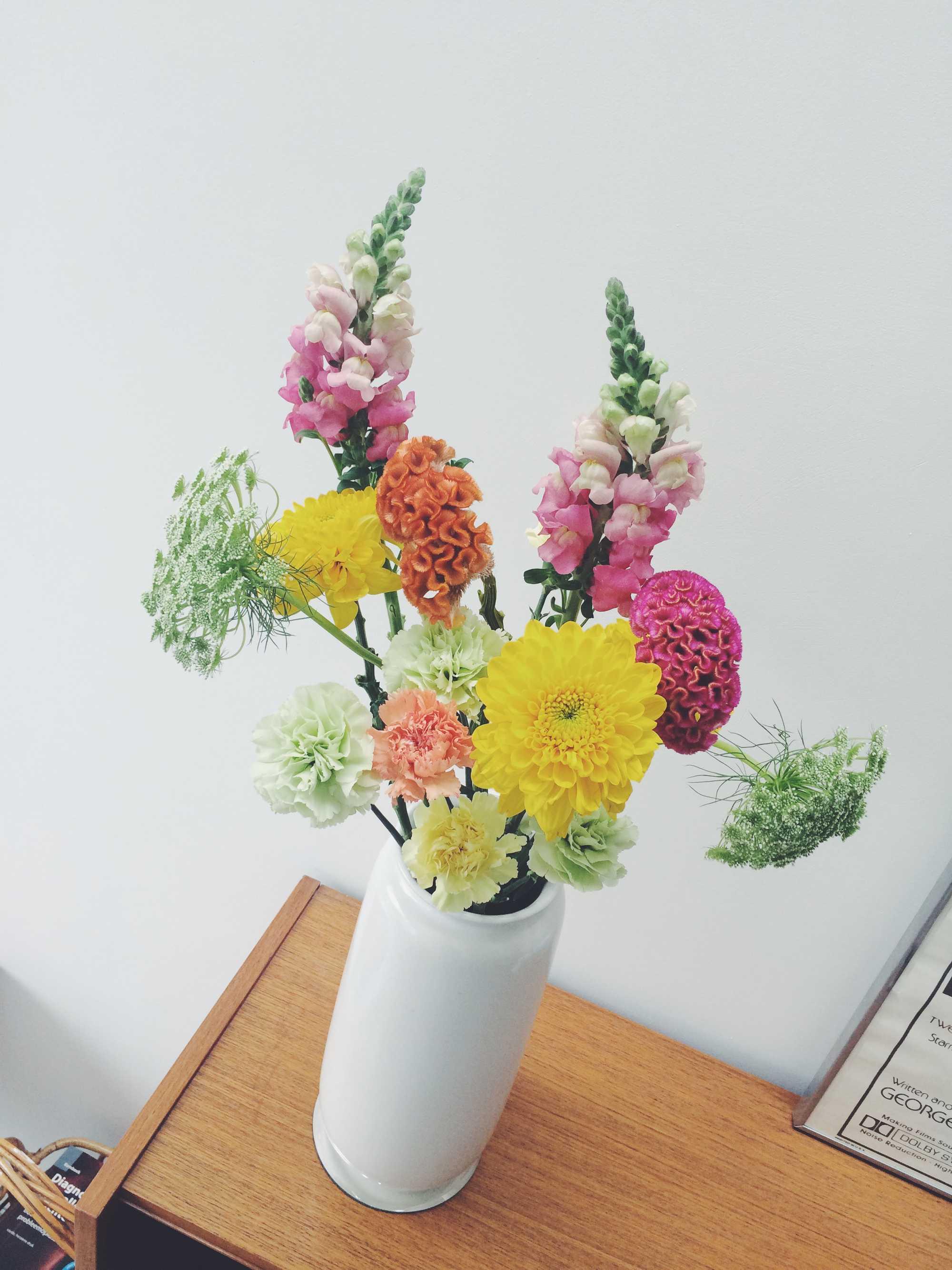 boeket bloemen pasen