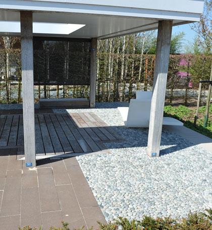 moderne tuin - strakke tuin