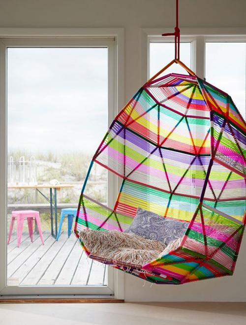 cocoonen hangstoel