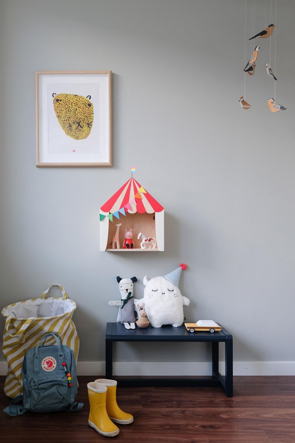 Kinderkamer Design, tijgerposter