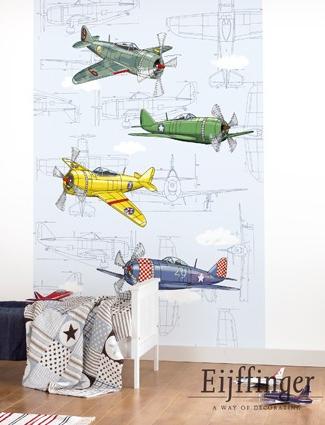 Kinderkamer accessoires vliegtuig