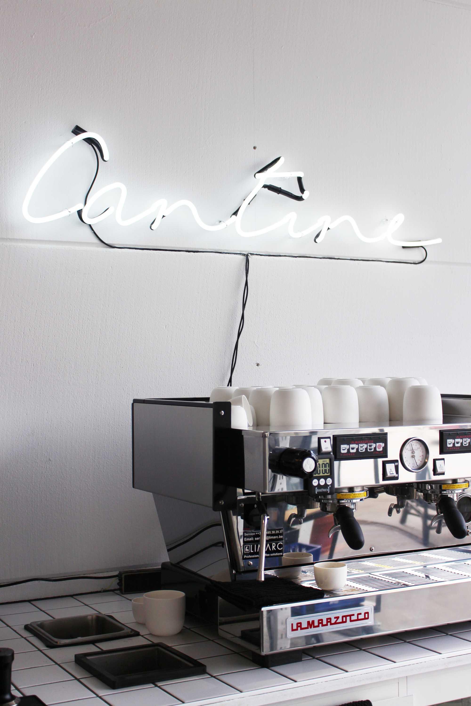 koffie - Vitrine